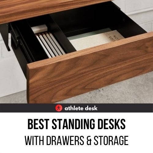 Standing Desks with Drawers