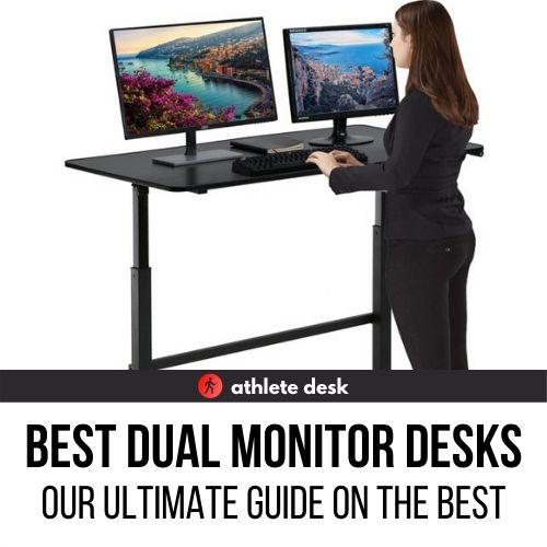 Standing Desk for Dual Monitors