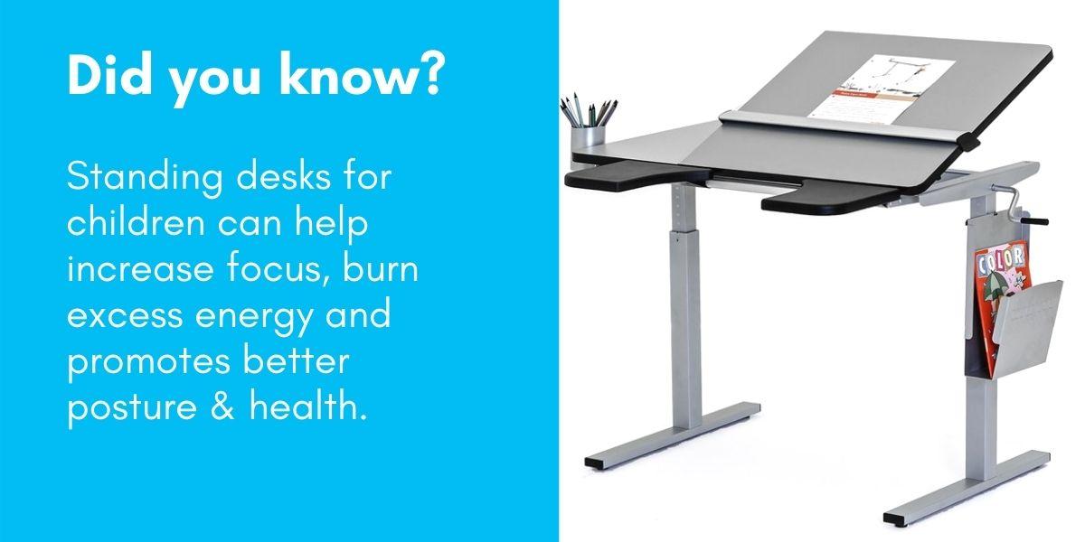 Standing Desks for Children Benefits