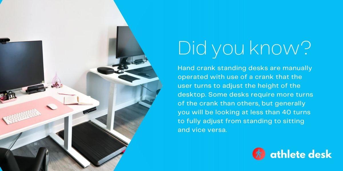 Top Five Best Hand Crank Standing Desks 2021 Review