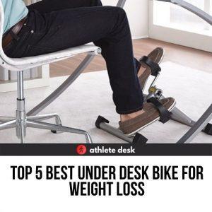 Top five best under desk bike for weight loss