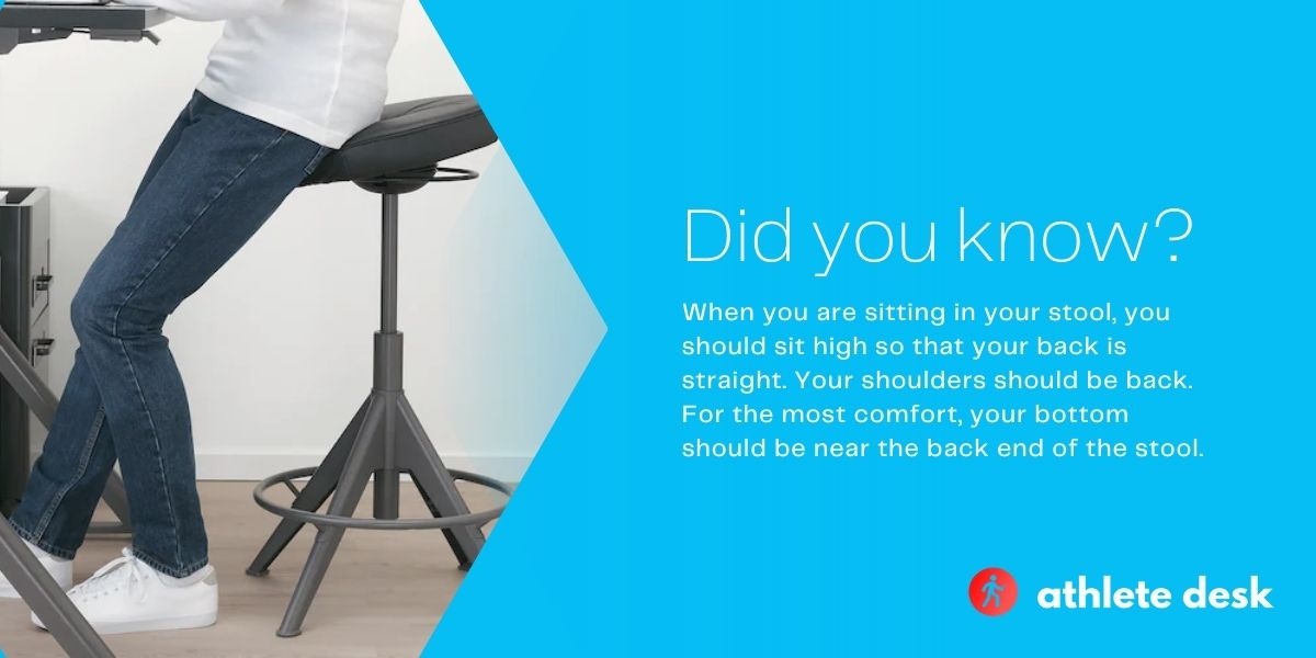 Are stools better for your back?