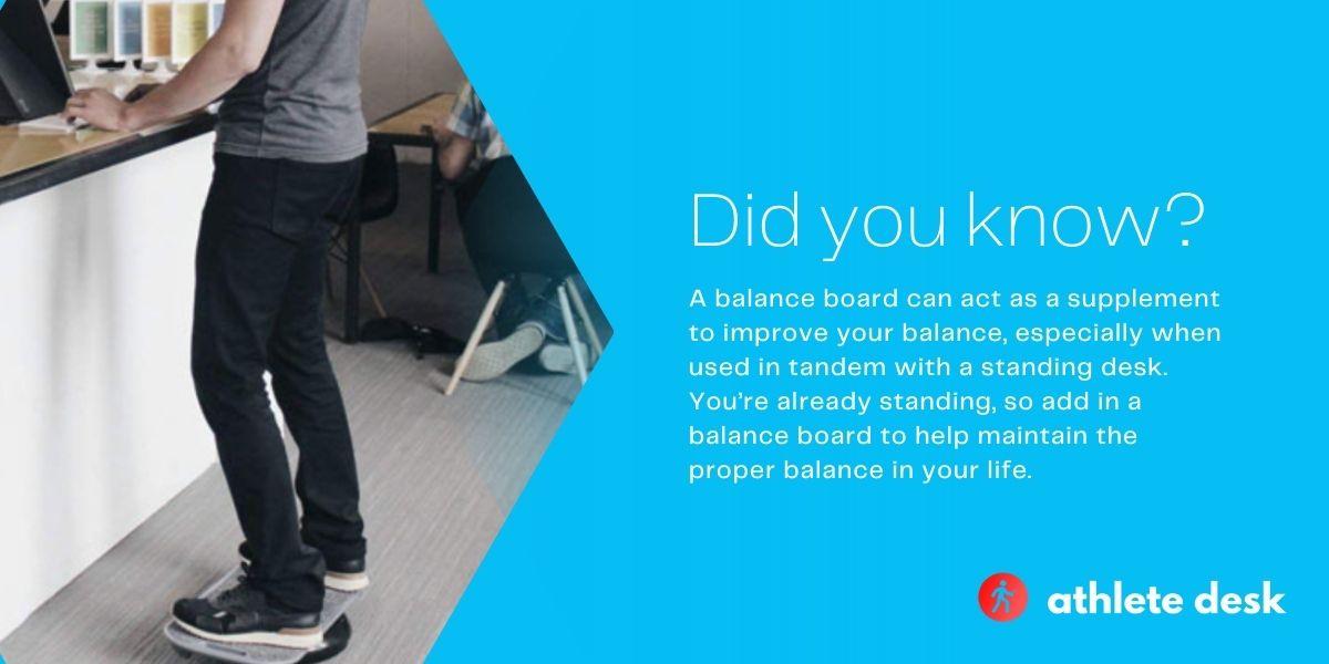 Best balance boards for standing desks did you know