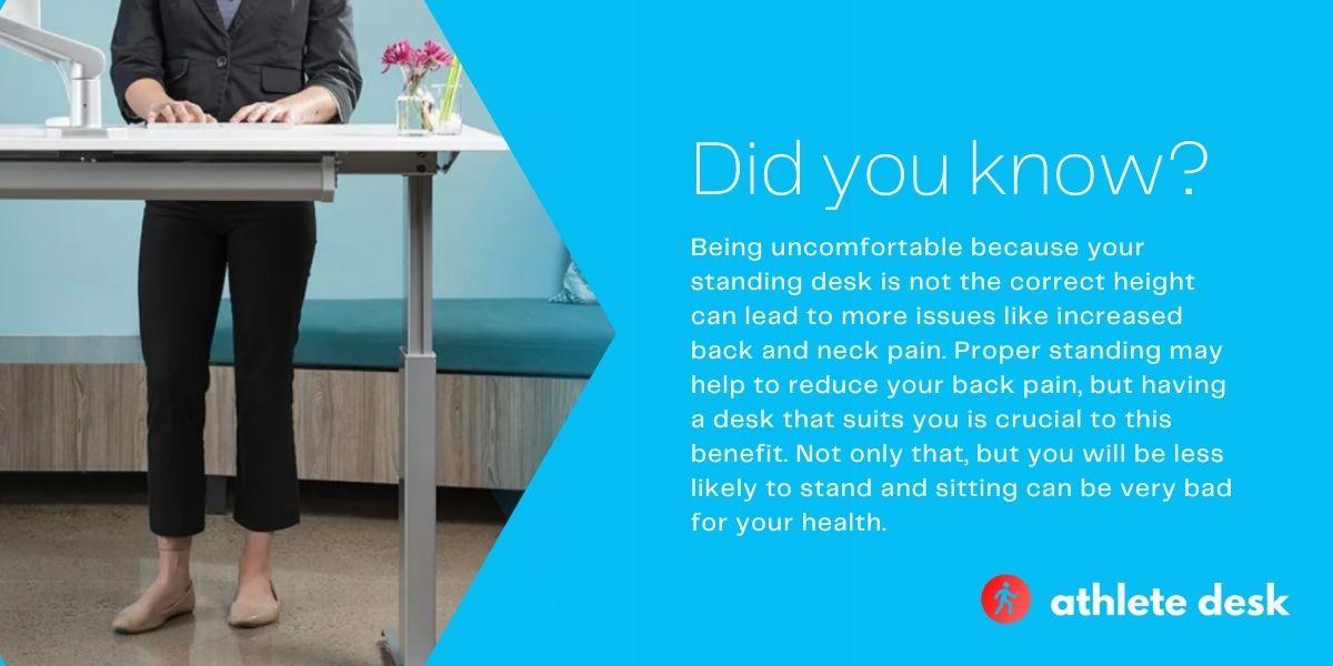Best standing desks for a short person