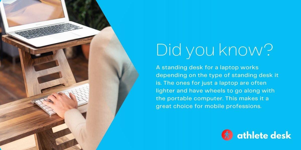 Best standing desks for laptops