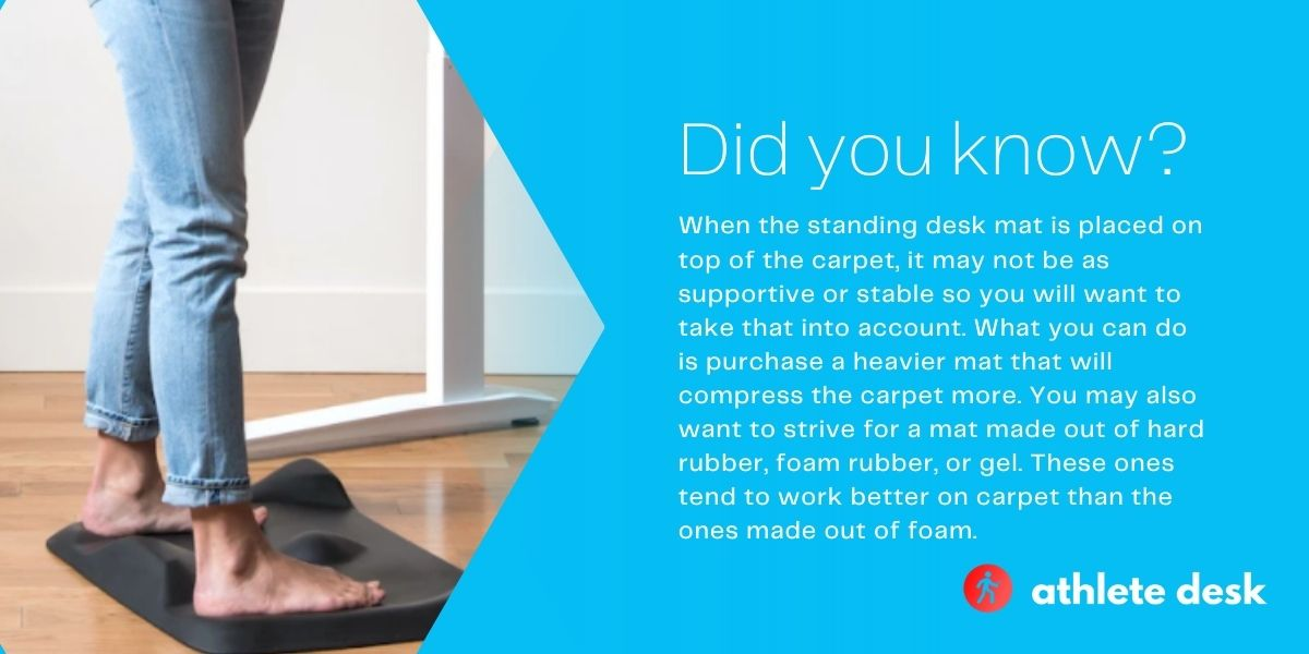 Do you need mat for a standing desk?