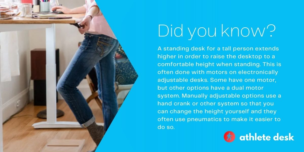 Top five standing desks for a tall person - Did you know