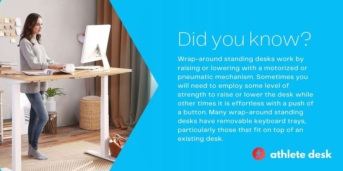 Top five wrap-around standing desks
