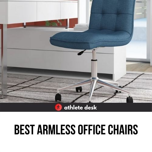 Best armless office chairs review