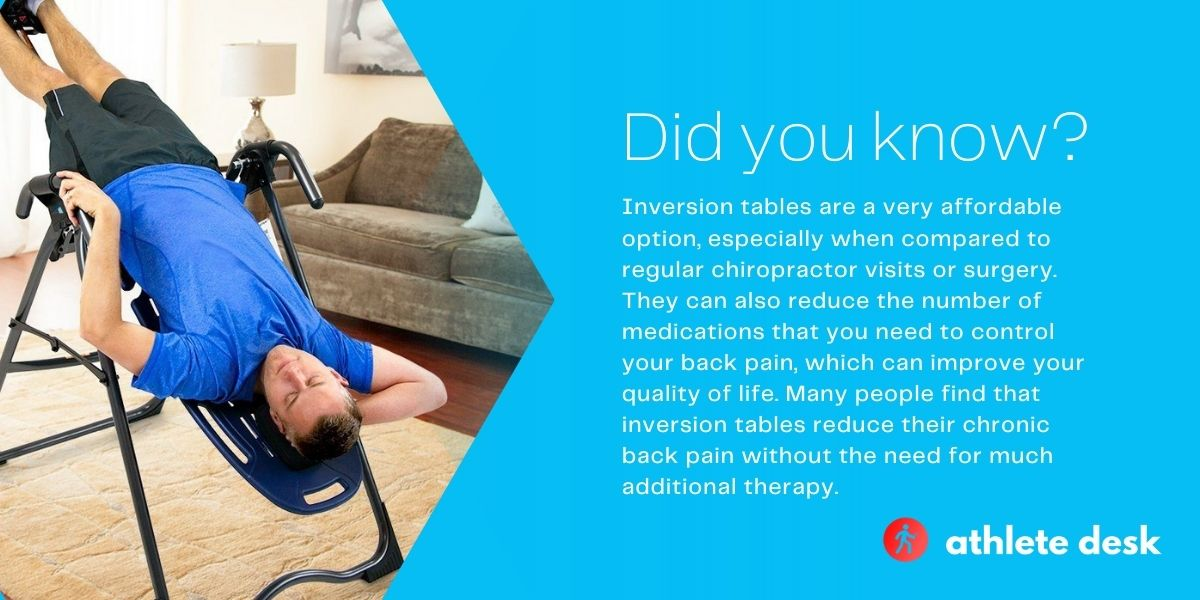 Top five best inversion tables review