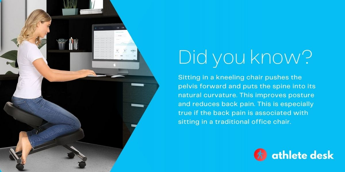 standing desk vs kneeling chair