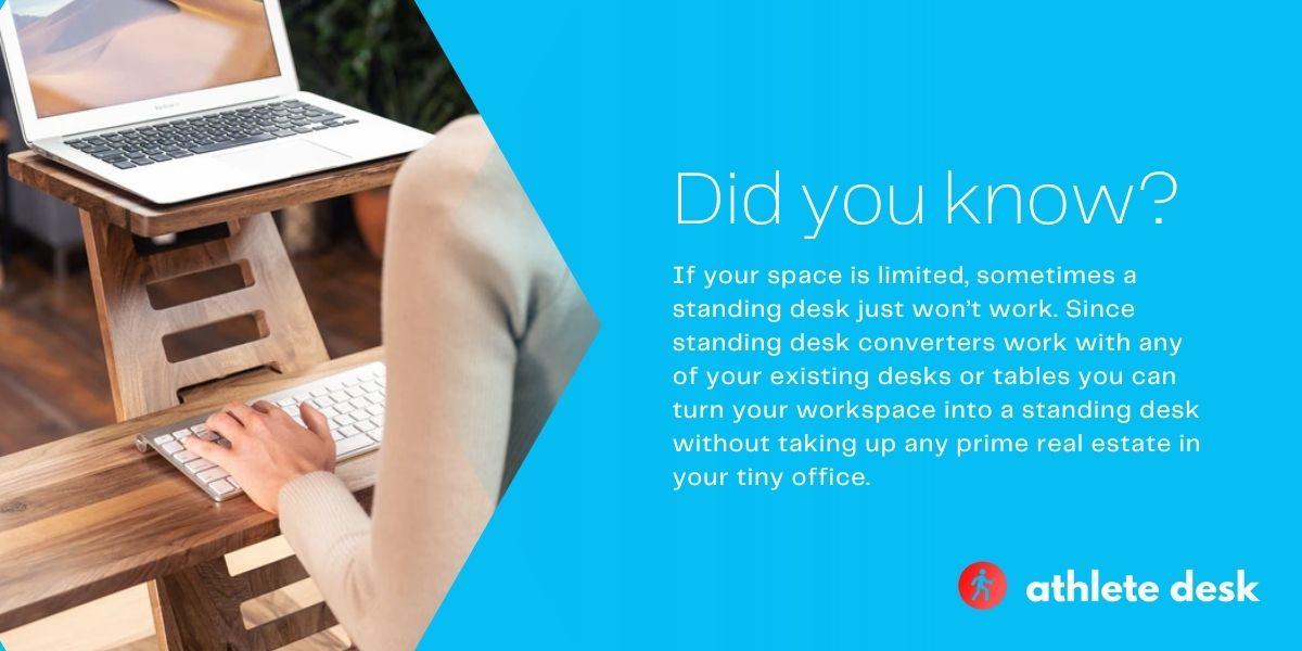 standing desks vs standing desk converters