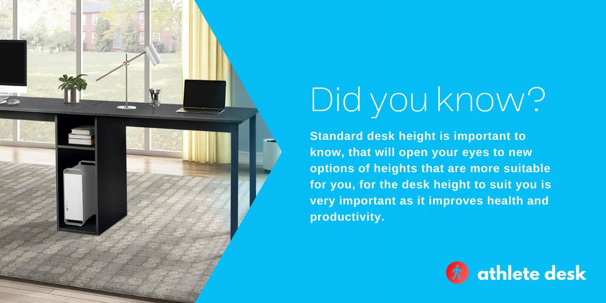 How Tall Is A Standard Desk